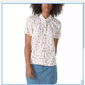 Vans size L button down shirt